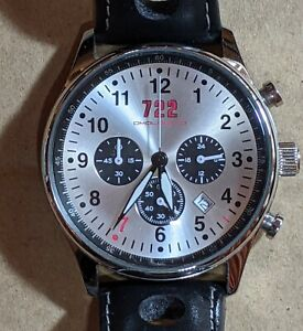 Omologato Watch - 722 Tribute, Stirling Moss, & Mercedes 300 SLR