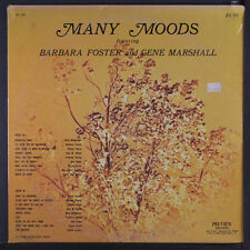 BARBARA FOSTER & GENE MARSHALL: Many Moods Of LP Sealed (corner bend, sl wear a