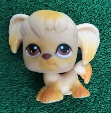 LITTLEST PET SHOP DOG COCKER SPANIEL CARAMEL w/ BROWN EYES #26 LPS