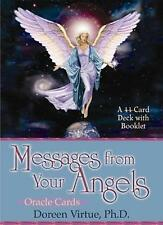 Messages From Your Angels Oracle Cards Doreen Virtue by Doreen Virtue (Cards, 2002)