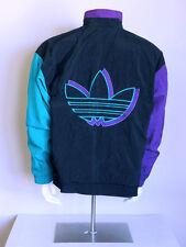 vtg 90s colorblock ADIDAS obyo js bones vaporwave hip hop TREFOIL swag jacket XL