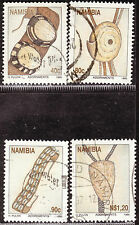 NAMIBIA 1995 TRADITIONAL NAMIBIAN ADORNMENTS COMPLETE POSTALLY USED SET 0769