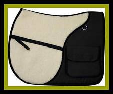 English A P Jump Riding Saddle Pad w/ side pockets to carry accessories Showman!