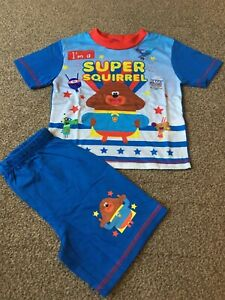 Boys Hey Duggee Short Pyjamas Pj's Size 18 - 24 months - New without Tags!!!