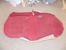 New OEM Ford Bench Seat Cushion Cover Red Bronco **Damage**