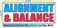 ALIGNMENT & BALLANCE Banner Sign NEW XXL Size Best Quality for the $ CAR SHOP