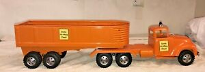 Tonka State Hi-Way  57 Tandem Truck W/ A Custom Hydraulic Dump Trailer