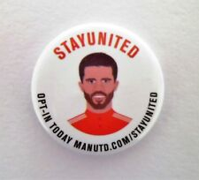 OFFICIAL Manchester United FC Pin Badges - Michael Carrick StayUnited Badge(s)