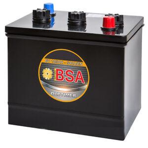 BSA Oldtimer Batterie 105AH 6V 540A/EN Oldtimerbatterie 84Ah 96Ah 102Ah trocken