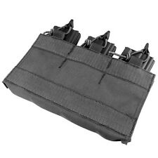 Condor VA6 BLACK M4/M16 Triple Mag Pouch Insert w/Hook Backing for MOPC