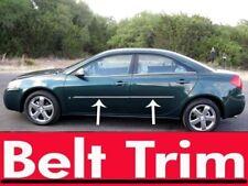 Pontiac G6 G5 seden CHROME SIDE BELT TRIM DOOR MOLDING 05 06 07 08 09 10