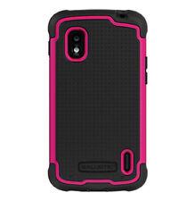 Ballistic LG Nexus 4 E960 - Black/Hot Pink Tough Jacket Case SG1098-M365