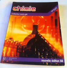 Chimie 1res S et E Par Odile Durupthy, André Durupthy  1988