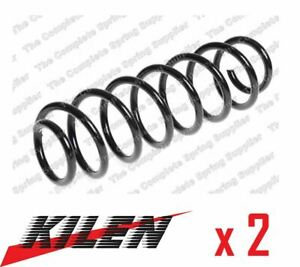 2 x KILEN REAR AXLE COIL SPRING PAIR SET SPRINGS GENUINE OE QUALITY - 54038