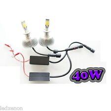 2 AMPOULE LED H7 40W - ÉCLAIRAGE PUISSANT - 6000K PEUGEOT 207