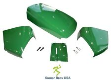 New  Fuel Door Kit, Cowl LH/RH & Cowl Cover Hood fits John Deere 4200 4300 4400