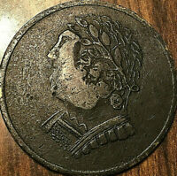 1820 LOWER CANADA BUST AND HARP HALF PENNY TOKEN - Breton 1012 - Superb!