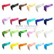 Quality Satin Table Runner Chair Sash Wedding Party Banquet Venue Decoration