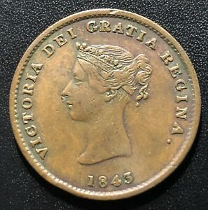 Canada (New Brunswick) 1843 Half Penny Token: BR910