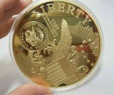 Jumbo Liberty Head Double Eagle 1849 Commemorative Medallion 376 grams