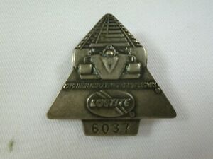 1979 Indianapolis 500 LocTite Silver Pit Badge Rick Mears Penske Racing Mustang