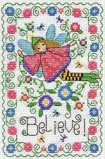 Cross Stitch Kit ~ Design Works Believe Fairy #DW3225