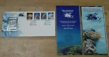 Malaysia Royal Selangor World 1st Pewter Stamp FDC 1997 Marine Life Reef Coral