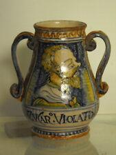 ITALIAN  MAJOLICA VASE, 16th. century