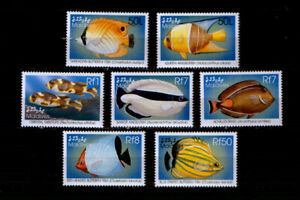 Malediven 3122-28 ** Fische (1998)