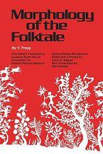 Morphology of the Folktale: Second Edition by V. Propp (Paperback, 1968)