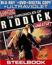 The Chronicles of Riddick (Steelbook) (B Blu-ray