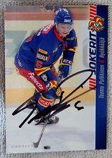 Detroit Red Wings Teemu Pulkkinen Signed 11/12 Cardset Jokerit Card Auto