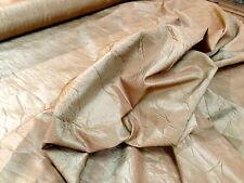 "Kravet Luxury Drapery Upholstery Crinkle Faux Silk Taffeta Fabric 54"" Crushed"