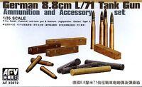 AFV Club 1/35 AF35072 Ammunition & Accessory Set for German 8.8cm L/71 Tank Gun
