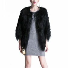 Fox Patternless Plus Size Coats, Jackets & Waistcoats for Women