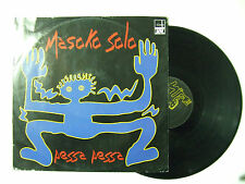 "Masoko Solo – Pessa Pessa - Disco Mix 12"" 45 Giri Vinile ITALIA 1994 Techno"