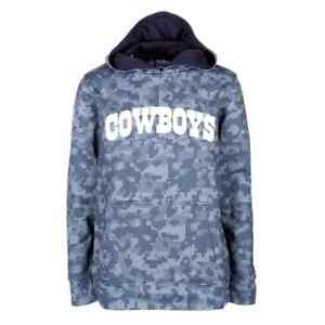 Dallas Cowboys NFL Boys Camo Hoodie, Size Small (8) - New With Tag