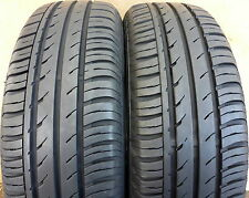 2 Stück - 185/65 R15 - CONTINENTAL ContiEcoContact 3 - Sommerreifen - 7mm! - 88T