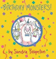 Birthday Monsters! (Boynton on Board) Boynton, Sandra Board book