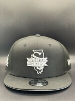 Chicago White Sox New Era Local State C1 9FIFTY Snapback Original Fit - Black