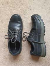 Hush Puppies Black Tucker Lace Mens Shoes, Size 10
