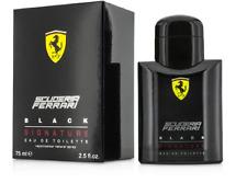 Ferrari Scuderia Ferrari BLACK EDT Spray,  2.5 fl oz    Men    Boxed!