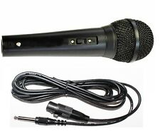 Dynamic Handheld Karaoke Microphone With XLR - 6.35MM Jack Lead 600 Ohm G158BC