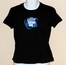LAST CALL WITH CARSON DALY NBC TV Show Junior Teens Cap Sleeve T SHIRT L New