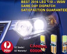 Best T10 Super Bright White Led Park light Interior light W5W CANBUS OZ stock !!