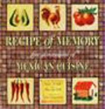 Recipe of Memory: Five Generations of Mexican Cuisine-ExLibrary