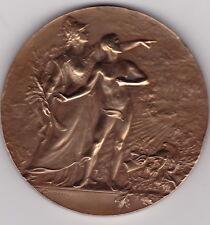 Médaille ART NOUVEAU, LES SPORTS par Marie-Alexandre Lucien COUDRAY 1902