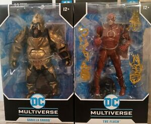 McFarlane DC Multiverse Injustice 2 The Flash and Gorilla Grodd IN HAND NOW