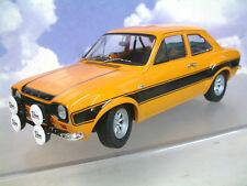 Minichamps 1/18 Diecast 1970 Ford Escort MKI RS1600 FAV Naranja/Negro 100688104