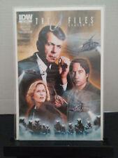 X-Files Season 10 Comic IDW CSM / Smoking Man Retailer Incentive Variant RI Ten